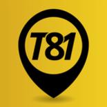 T81 App - Provedor de Rede de Compartilhamento logo
